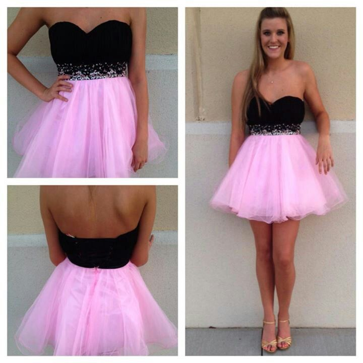 Homecoming Dress Sweetheart Homecoming Dress Two Tone Homecoming